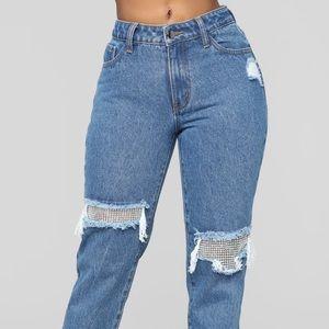 Fashion Nova- Boyfriend Jeans